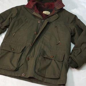 L.L.Bean Canvas Lined Jacket. Sz. M